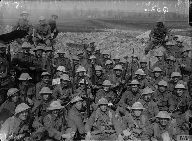 A Group of men from 55th Division (IWMQ526)
