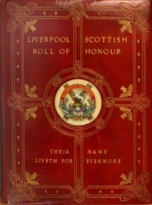 Book of Remberance Front Cover